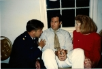 Robert Donovan trying to get Randy Blankenship to enlist while his wife Karen watches on in disbelief