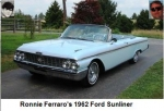 Ronnie Ferraro's 1962 Ford Sunliner