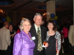 Flossie Weikert, Wayne Bertrand and Debbie Bertrand